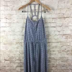 Athleta Ariel Novella Fully Lined Maxi Dress Sz 4